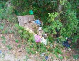 Un dépôt sauvage est un dépôt de déchets illégal